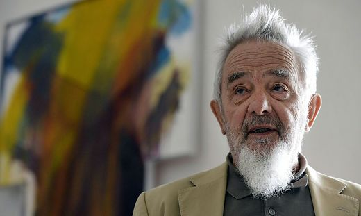 Feiert am 8. Dezember seinen 90. Geburtstag: Arnulf Rainer