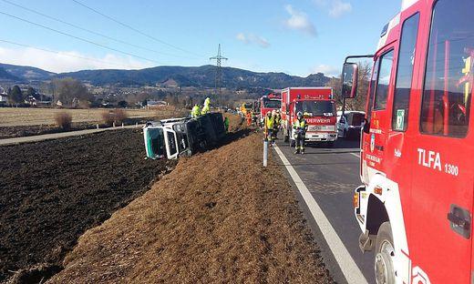 Unfall auf der S 37
