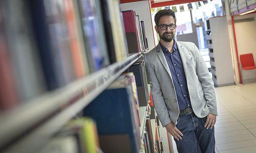 Roman Huditsch, Leiter der AK-Bibliotheken Kärnten