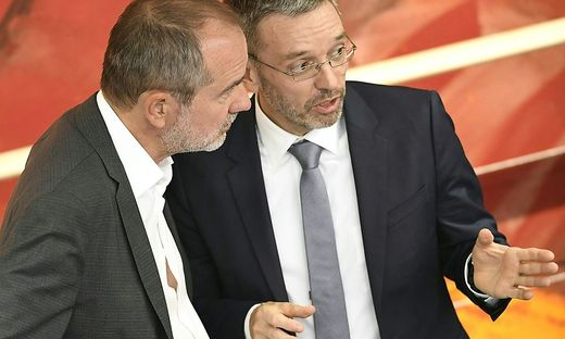 Thomas Drozda und Herbert Kickl