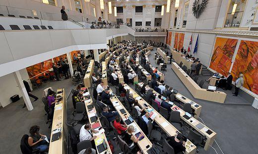 Das Plenum des Nationalrats