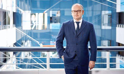 Erste-Chef Bernhard Spalt