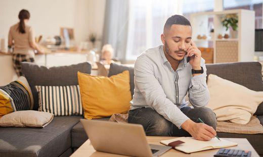 Im Home Office wird mehr telefoniert