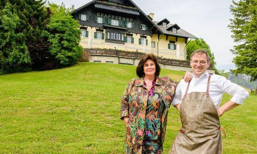 Für die Gastronomie des Knappenhofes holte Boutiquehotels-Chefin Helena Ramsbacher Max Stiegl. Der Koch des Jahres mit vier Hauben ist selbst Chef am Gut Purbachhof