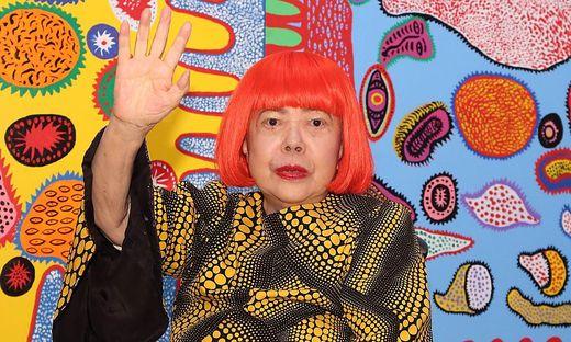 Die japanische Künstlerin Yayoi Kusama