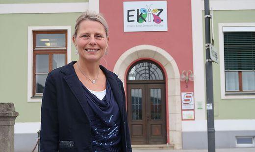Sabine Ellmeier leitet das Eltern-Kind-Zentrum Mürztal