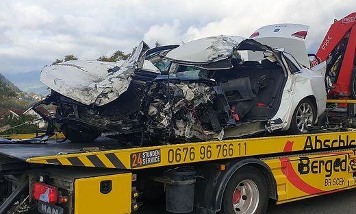 Der Pkw-Lenker (78) aus dem Bezirk Murtal verstarb noch an der Unfallstelle