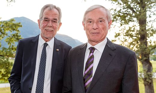 Alexander Van der Bellen und Horst Köhler