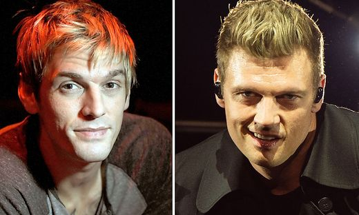 Aaron Carter (links) und Nick Carter