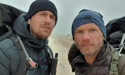 Jörg Wöss und Reinhard Atteneder