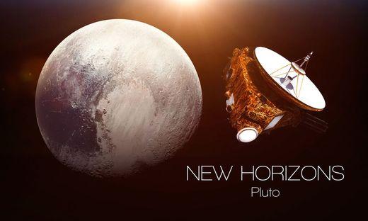"""""""New Horizons"""" flog zu Pluto und noch weiter"""