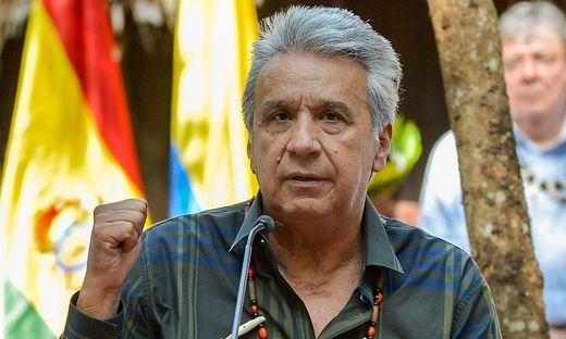 Pakt für den Amazonas: Ecuadors Präsident Leinín Moreno