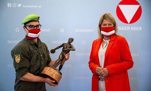 Vinzenz Höck (links) ist steirischer Sportler des Jahres
