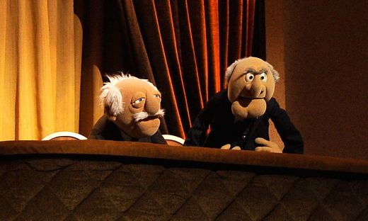 Beim Opernball gilt: zuschauen und ablästern wie die Muppets Waldorf und Statler