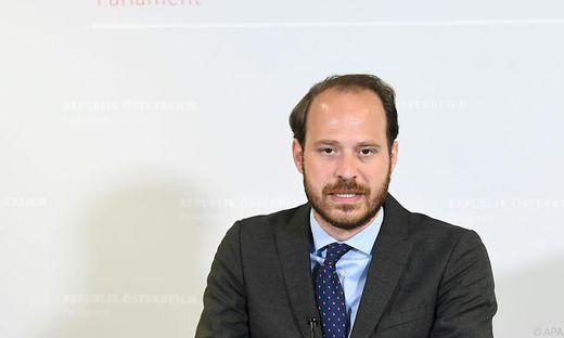 Verfassungssprecher Nikolaus Scherak (NEOS)