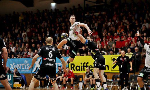 Daniel Dicker und Graz waren im Derby obenauf