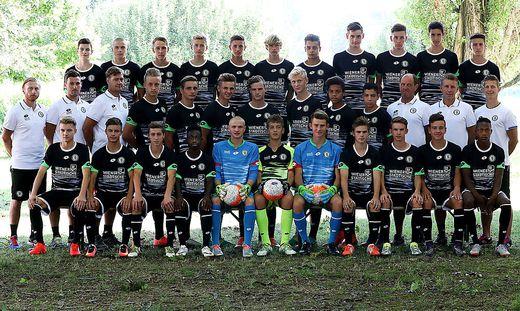 Die U18 von Sturm Graz