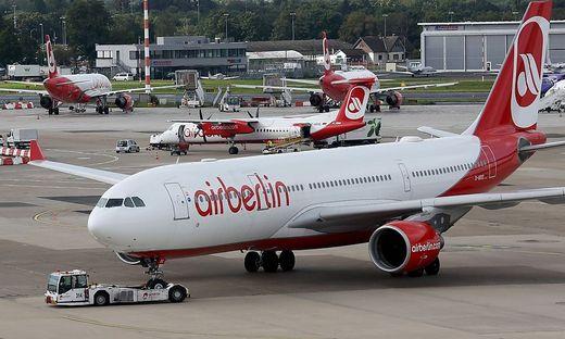 Air Berlin muss möglicherweise Flugzeuge zurückgeben