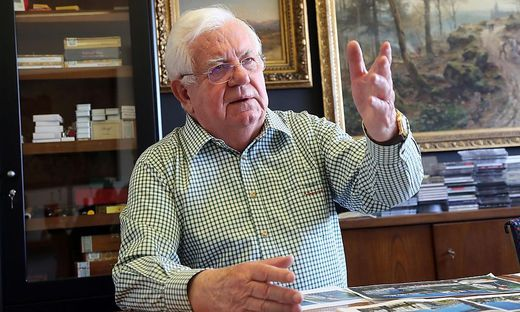 Robert Rogner feiert am Montag 80. Geburtstag