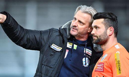 Auf Markus Schopp und Dario Tadic wartet eine spannende Aufgabe