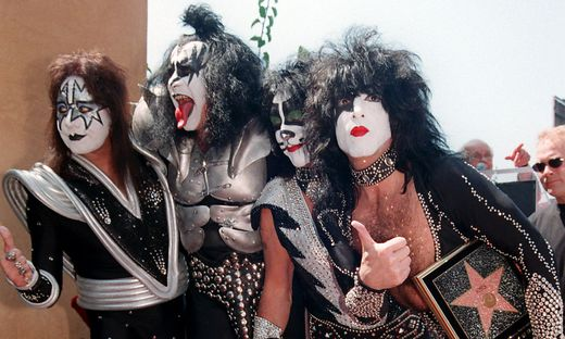 Ace Frehley, Gene Simmons, Peter Criss und Paul Stanley