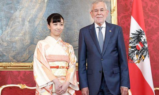 Prinzessin Kako bei Van der Bellen