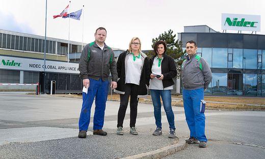 Mitarbeiter von Nidec und Politiker hoffen auf den Erhalt des Fürstenfelder Werkes