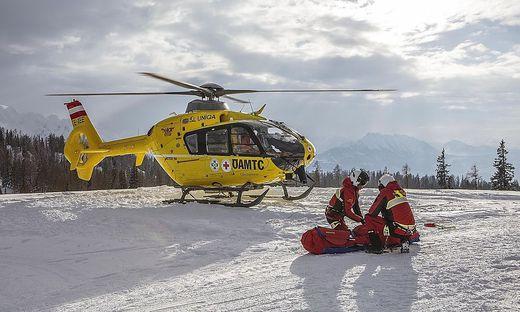 Jeder fünfte Unfallverursacher bei einem Skiunfall begeht Fahrerflucht. Damit macht man sich strafbar (Symbolfoto)