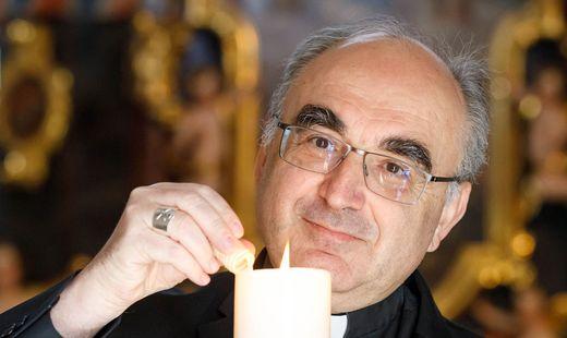 """""""Weihnachten rettet uns"""", so Bischof Wilhelm Krautwaschl"""