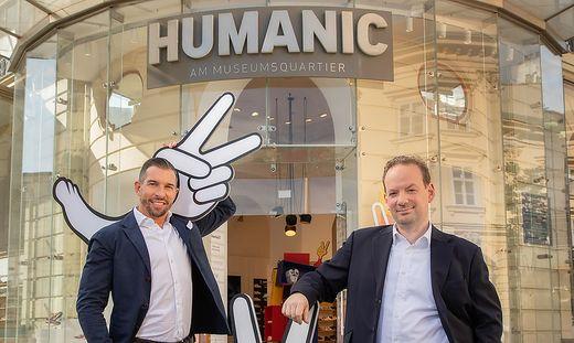 Leder&Schuh-Vorstände Michael Rumerstorfer und Wolfgang Neussner