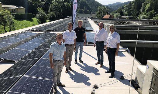 Gerhard Pircher, Fritz Kratzer, Ägyd Pengg, René Krejci und Christian Wohlmuth