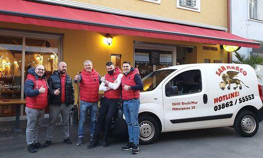 Eines von vielen teilnehmenden Unternehmen: San Marco in Bruck
