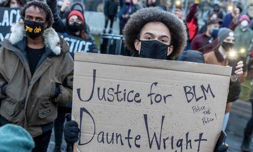 Proteste in Minneapolis nach dem Tod von Daunte Wright