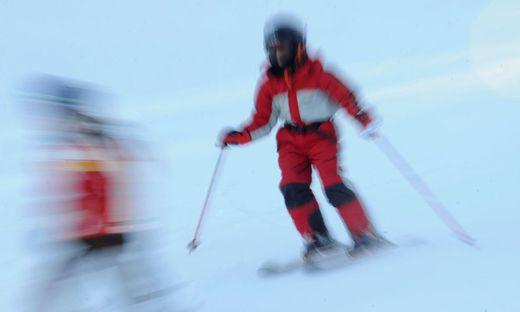 Ein zehnjähriger Bub war nach einem Skiunfall bewusstlos