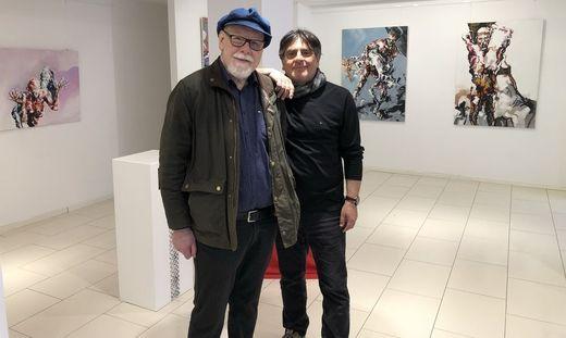 Gemeinsame Ausstellung der befreundeten Künstler Engelbert Rieger und Wolfgang Garofalo in der Stadtgalerie Deutschlandsberg