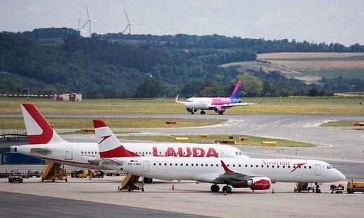 Die irische Billig-Airline Ryanair hatte die österreichische Fluggesellschaft Laudamotion 2018 zur Gänze von Niki Lauda übernommen