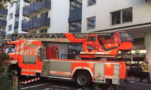 Brandalarm in der Klagenfurter Innenstadt