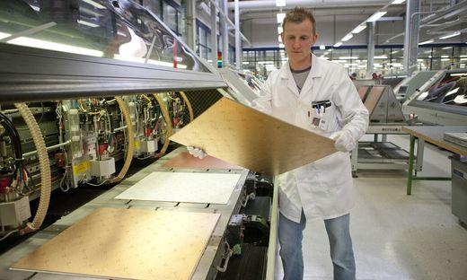 AT&S ist ein Spezialist für die Produktion von Leiterplatten
