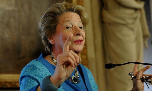 FPÖ-Stadträtin und frühere EU-Abgeordnete Ursula Stenzel: Rede bei Identitären-Demo