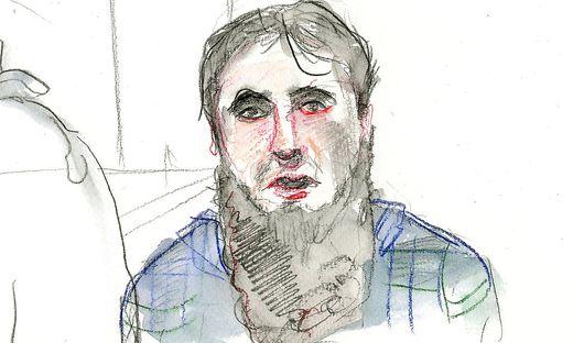 """Mirsad O. ist die Zentralfigur der Grazer Jihadisten- Prozesse und der """"Popstar"""" der Szene"""