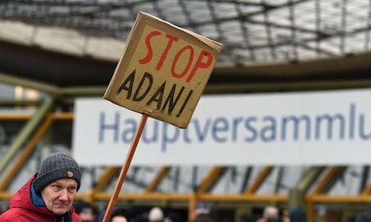 Im Vorfeld von der Siemens-Hauptversammlung kam es zu Protesten