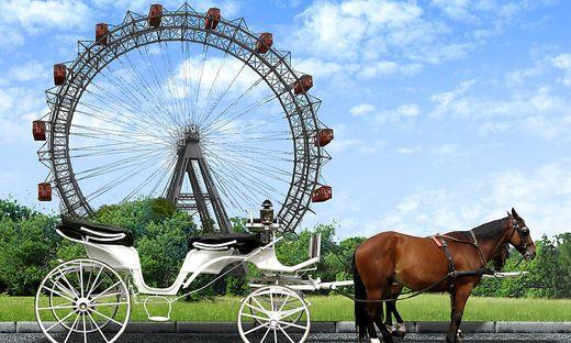 Wahrzeichen: das Wiener Riesenrad