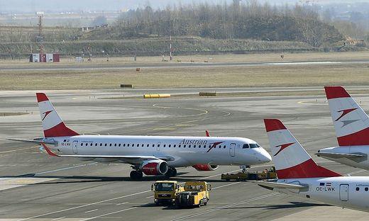 Zahlreiche AUA-Flugzeuge bleiben vorerst am Boden