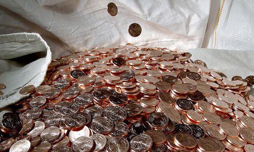 Bargeld österreicher Horten 22 Millionen Euro An Cent Münzen