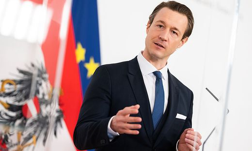 Finanzminister Gernot Blümel: des Kanzlers engster Vertrauter