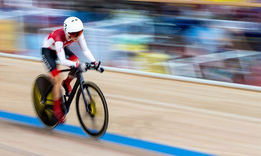 Yvonne Marzinke glänzte im 500 Meter Zeitfahren mit österreichischem Rekord