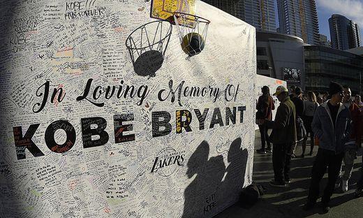 Große Trauer um Kobe Bryant