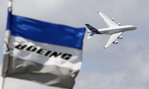Mehr Auslieferungen von Boeing, höherer Auftragsstand bei Airbus