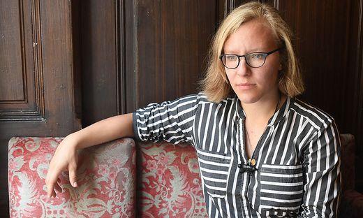 Die Schrifstellerin Raphaela Edelbauer
