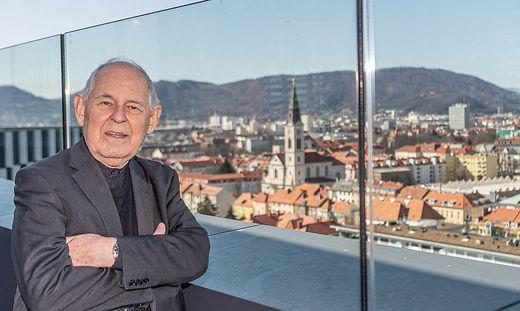 "Der Grazer Armenpfarrer Wolfgang Pucher ""ganz persönlich"" im Gespräch"